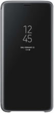 Clear View Standing Cover S9 Plus - Black