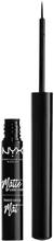 NYX Professional Makeup, Matte Liquid Liner, MLL01 Black 2ml