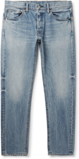 Slim-fit Denim Jeans - Light blue