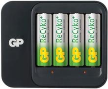 GP Batteriladdare ReCyko+ 550 AA/AAA Inkl 4 st 2100mAh AA NiMH