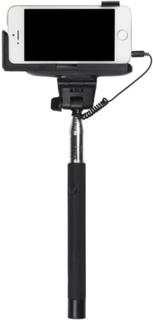 KITSOUND Selfiestick 23-105cm Trådad 3,5mm Utlösare Svart