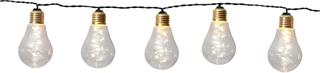 Star Trading - Party Light 10 lampor, svart