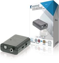 Digital Audio Converter - RCA - TosLink - SPDIF