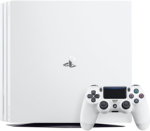 Playstation 4 Pro - 1 TB (White Edition)