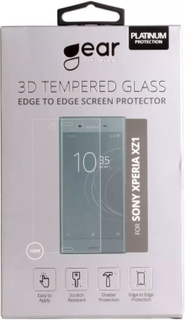 GEAR Härdat Glas 3D Sony Xperia XZ1 Edge to Edge Transparent
