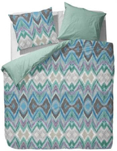 Essenza Sengesæt - 140x220 cm - Essenza Kyo blue sengetøj