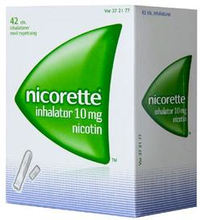Nicorette Inhalator 10MG (42 stk)