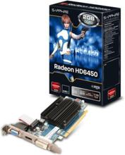 Radeon HD 6450 Low Profile - 2GB GDDR3 RAM - Grafikkort