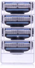 4-pack Rakhuvud kompatibla med Gillette Mach3