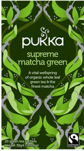 Pukka Supreme Green Matcha Te Ø (20 Breve)