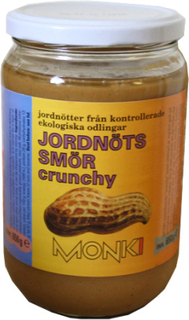 Monki Jordnøddesmør Crunch Ø (650 gr)