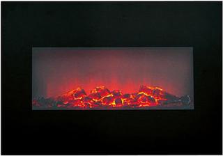 Klassisk elektrisk peis med flammeeffekt 1600-1800W