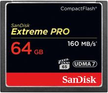 SanDisk Minneskort CF Extreme Pro 64GB 160MB/s UDMA7