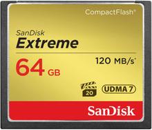 SanDisk Minneskort CF Extreme 64GB 120MB/s UDMA7