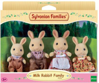 Sylvanian Families Familien Snøskohare 4108