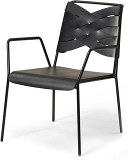 Design House Stockholm - Torso Lounge Stol, Sort/ Sort