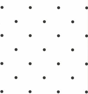 Fabulous World tapet Dots hvid og sort 67105 3