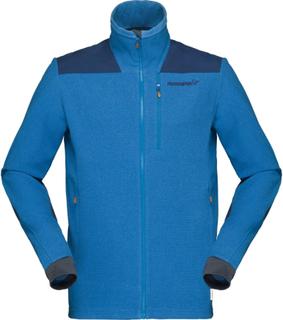Norrøna Svalbard Warm1 Jacket Men Herre mellanlager tröjor Blå M