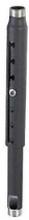 CHIEF CMS0507 - Förlängningsrör, justerbart 1524 - 2134mm, gängat i båda ändar, Svart