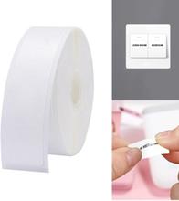 Trådlös Bluetooth-etikettpappersskrivare Bärbart Hemkontor 15*50