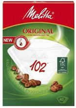 Melitta Melitta Kaffefilter 102 Vit 80-pack 4006508114863 Replace: N/AMelitta Melitta Kaffefilter 102 Vit 80-pack