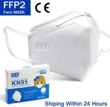 2-100 Pcs FFP2 Kid Masks KN95 Children's Masks masque Reusable Protective Face Mask maske 95% Filtration Mascarillas tapabocas