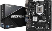 H310CM-HDV/M.2 Moderkort - Intel H310 - Intel LGA1151 socket - DDR4 RAM - Micro-ATX