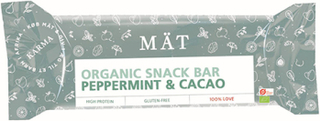 Mät Organic Snack Bar - Peppermint & Cacao (40g)