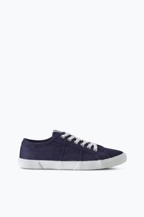 Sneakers Lace Up i økologisk bomuld - Ellos