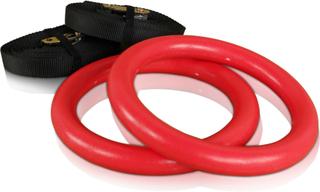cPro9 Crossfit ABS Romerska Ringar Plast - Röd