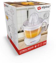 Alpina Citrus Juicer 25w Saftpresser - Hvit