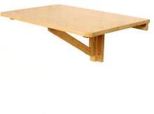 Vægmonteret bord egnet som skrivebord / laptopbord / spisebord