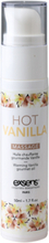 Warming Gourmet Massage Oil - Hot Vanilla