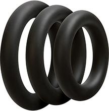 Optimale 3 C-Ring Set Thick Black