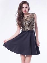 Black Dress Belting