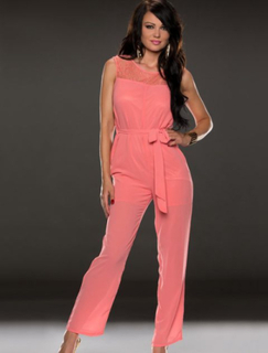 R70024-3 Jumpsuit Pink