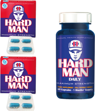 Erection Aids Pack 9 - Hard Man + Hard Man Daily - save 16%