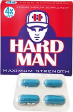 Hard Man Maximum Strength - 4 kapslar-Erektionshjälp