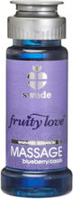 Swede - Fruity Love Värmande Massageolja Blueberry/Cassis 50 ml