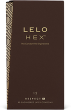 Lelo - HEX Condoms Respect XL 12 Pack