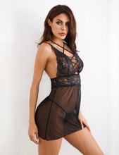 Backless Babydoll Set