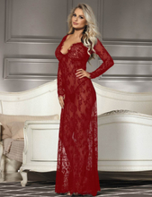 Lace Long Sleepwear Gown