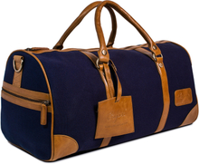 Weekendbag kanvas I - Navy