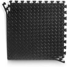 SBI Fitness Pusselmatta med kantbitar, 60 x 60 x 2 cm, svart/grå, SBI Fitness Golv