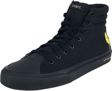 Straye Footwear - Venice Spray Smile -Høye sneakers - svart