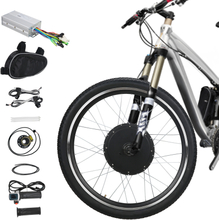 "Voilamart 26"" 1000W Electric Bicycle Conversion Kit Front Motor Wheel E Bike Cycling Hub Motor"