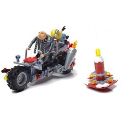 Mega Construx Minions Grus 186-delt motor - wupti.com
