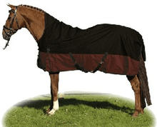 Hkm highneck weidedecke 1680d fleece outdoordecke pferdedecke