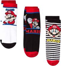 Super Mario 3-pack Socks Multicolor