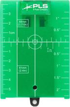 PLS GRT4 Måltavla för grön laser